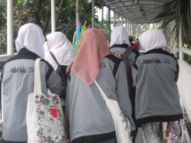 Gelombang Aksi Damai Anak Rohis Memadati Bundaran HI