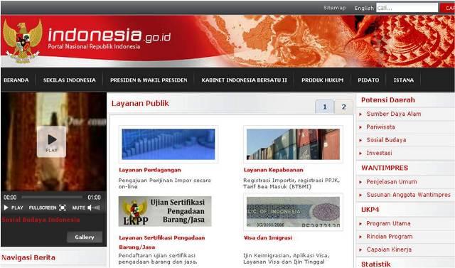 Indonesia.go.id, Situs Nasional Kok 'Unyu'?
