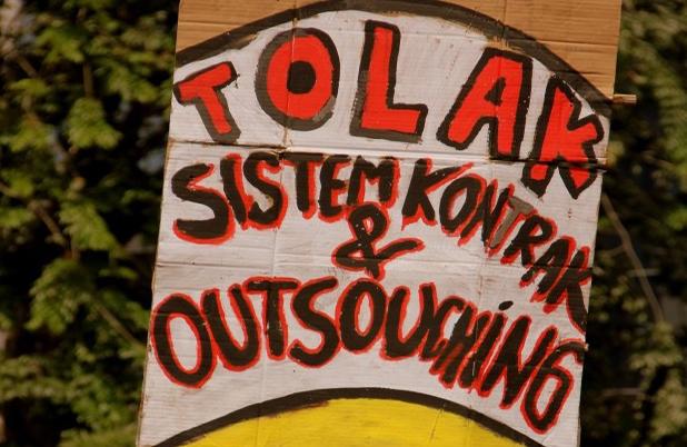 Pemogokan Buruh di Indonesia; Cermin Perjuangan Kelas