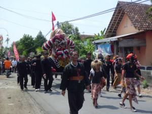 Kirab Budaya di Dusun Mejing, Gamping, Sleman