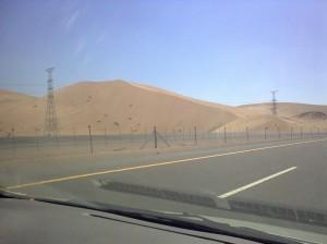 (WPC-6) Mengintip Gunung Batu Warna Warni dan Eksotisme Gunung Pasir, Dalam Jalan-Jalan ke Syuhada Badr di Kota Badr