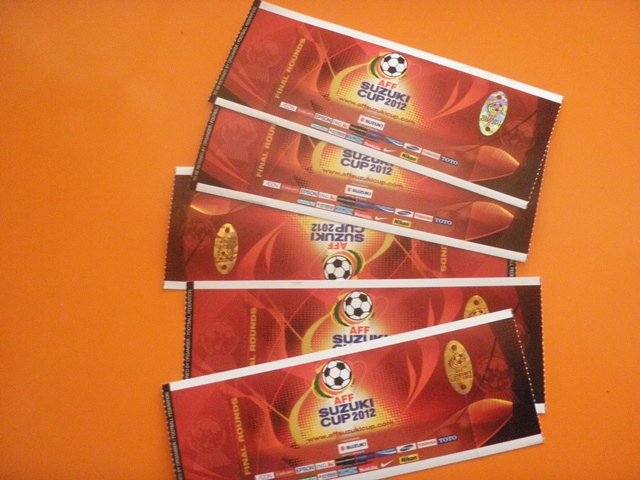 Suasana Piala AFF 2012 Tak Terasa di Bukit Jalil
