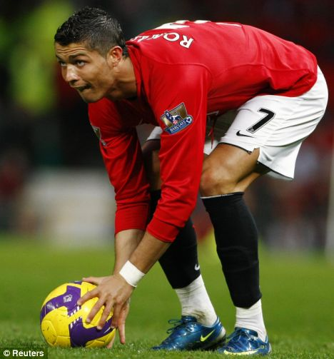Rahasia Tendangan Bebas C.Ronaldo