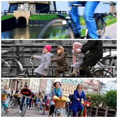 BBM Naik di Belanda? Tidak Masalah Karena Ada Sepeda