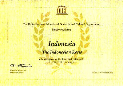 Indonesia & Warisan Budaya Dunia