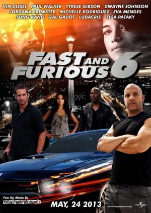 Aktor Indonesia Bakal Nongol di Film Fast and Furious 6