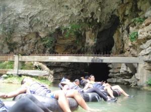 Adventure in Pindul Cave and Oyo River, Yogyakarta