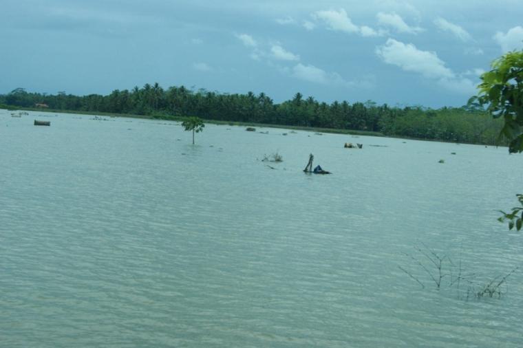 Berita Foto: Kondisi Terkini Banjir di Jalur Selatan Jawa Tengah