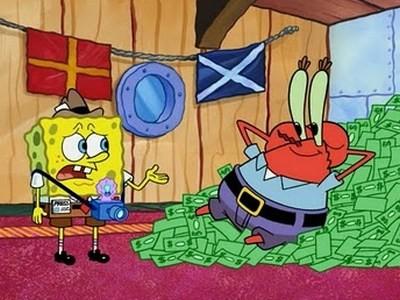 Si Jurnalis Sejati Spongebob Menghadapi Kegilaan si Kapitalis Mr. Krabs