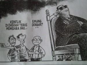 Karikatur KOMPAS Cetak, 4 Juli 2012