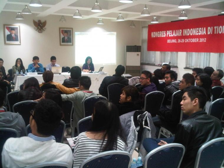 Pelajar Indonesia Setiongkok Bentuk Organisasi Tunggal PPIT