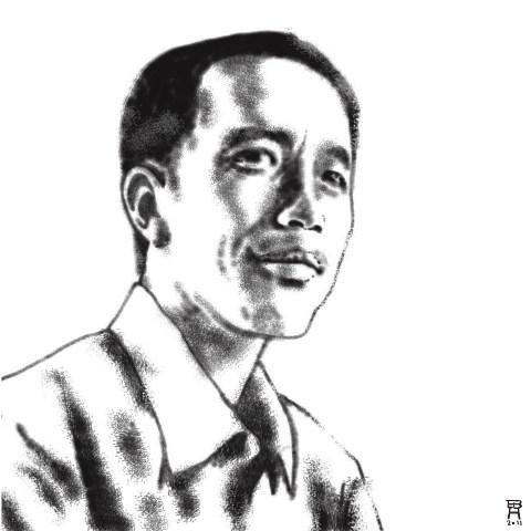 Kisah Hidup Jokowi