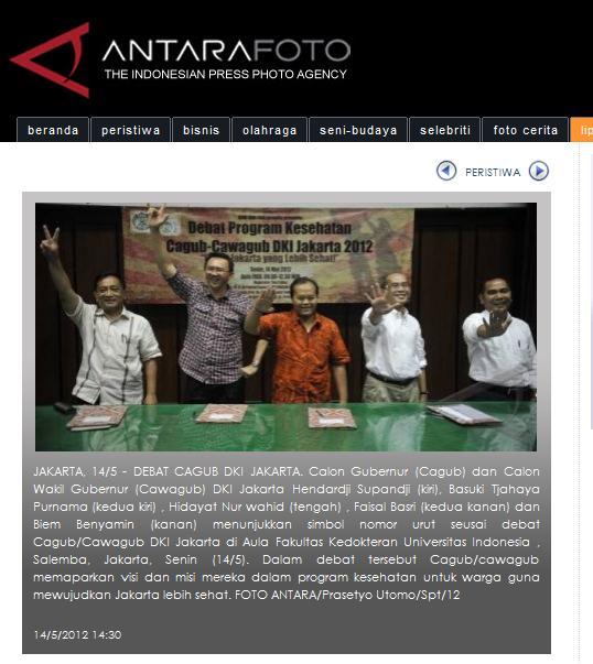 DKI Jakarta Mencari Gubernur yang Matang