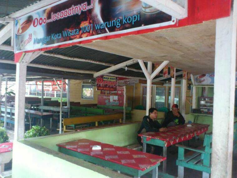 Manggar, Kota 1001 Warung Kopi.