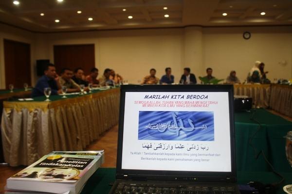 Belajar dan Berbagi Ilmu PTK di Hotel Bumi Wiyata Depok