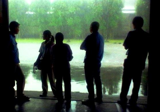 Habis Hujan Terbitlah Macet. Salah Siapa?