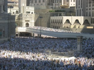 Jumatan di Masjidil Haram
