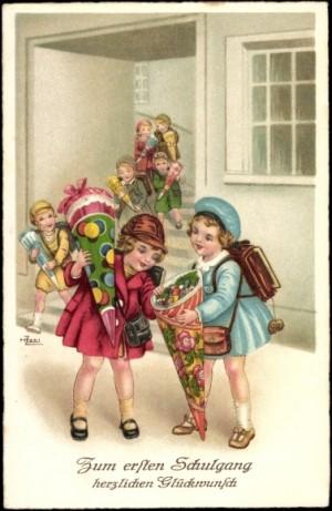 Zuckertüte: Mengenal Tradisi Hari Pertama Sekolah di Jerman