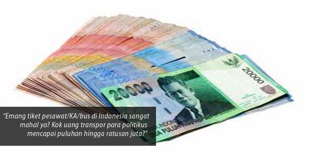 Uang Transport = Money Politic