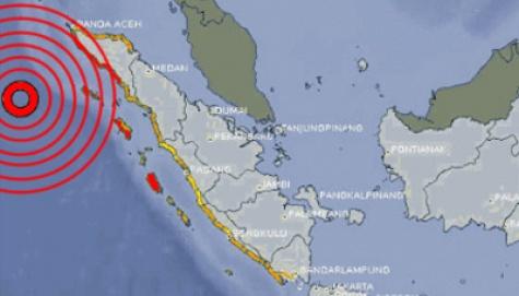 Orang Sumatra Trauma Gempa