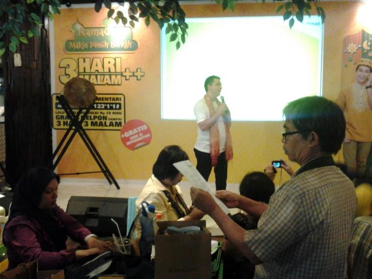 Silaturahmi Blogger di Launching Produk Ramadhan Indosat