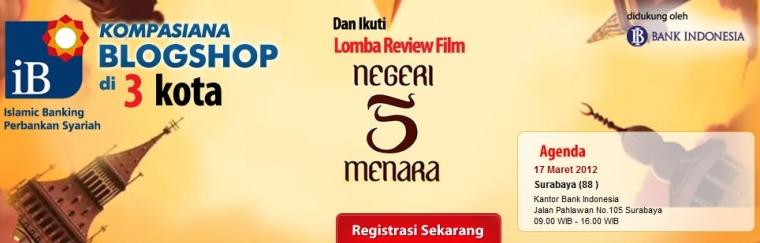 Pemenang iB Blogshop Negeri 5 Menara Makassar