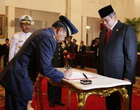 Presiden lantik Kasau baru, Marsdya TNI Putu Dunia