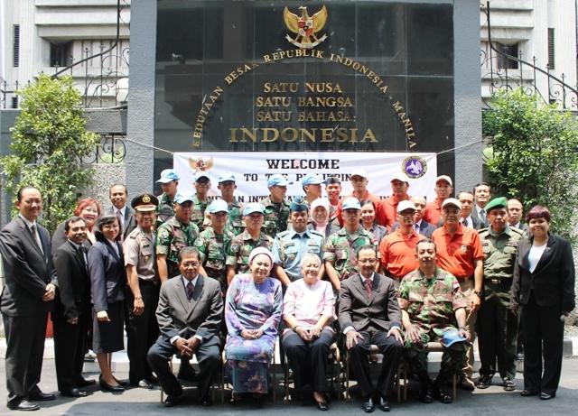 Kontingen IMT Indonesia, Mulai Bertugas di Philipina