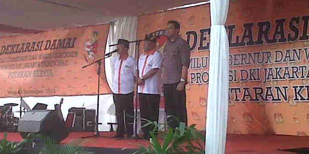 Deklarasi Damai ala KPU DKI: Ajang Ahok Diolok-olok