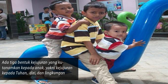 Mari Menanamkan Kejujuran kepada Anak