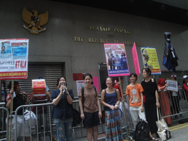 "Demo BMI Hong Kong ""Bukan"" Tanpa Alasan"