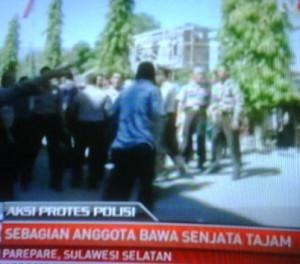 150 Polisi Parepare Menolak Dimutasi