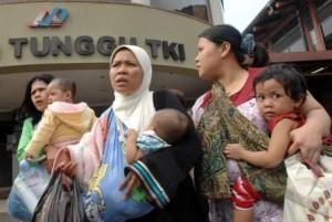 Bayi-bayi TKW yang Dibuang di Bandara