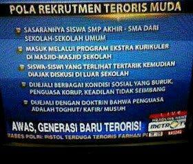 MetroTV: Rohis, Generasi Baru Teroris!