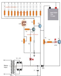 baterai diagram