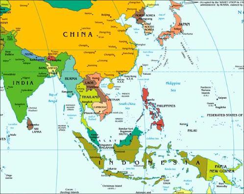 peta Asia ile ilgili görsel sonucu