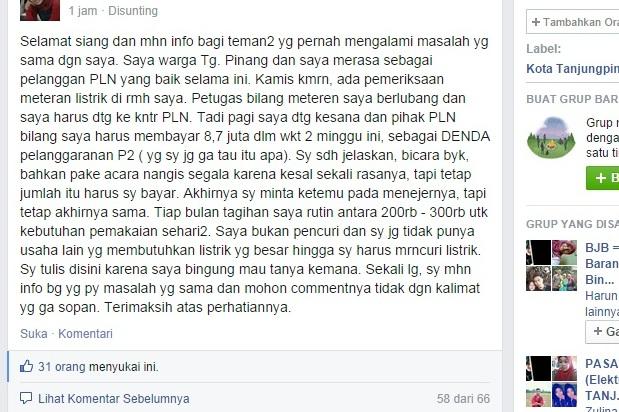 Guru ini Didenda 8,7 Juta Rupiah, Diduga Mencuri Listrik PLN