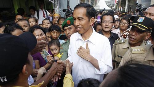 Jokowi dan Biji Sawi