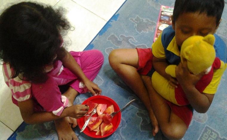 Mengenalkan Food Combining Pada Anak