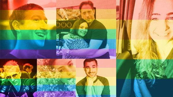 Foto dengan Warna Pelangi dan Tagar #LoveWins, Sudahkah Kita Tahu Artinya?