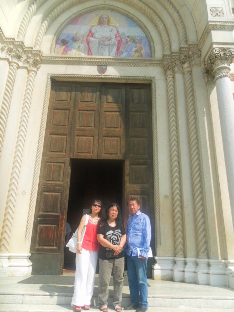 Sahabat Kami Orang Italia, 27 Tahun Mengabdi di Padang