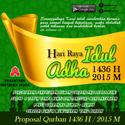 Proposal Qurban Bernilai Ibadah dan Keberkahan