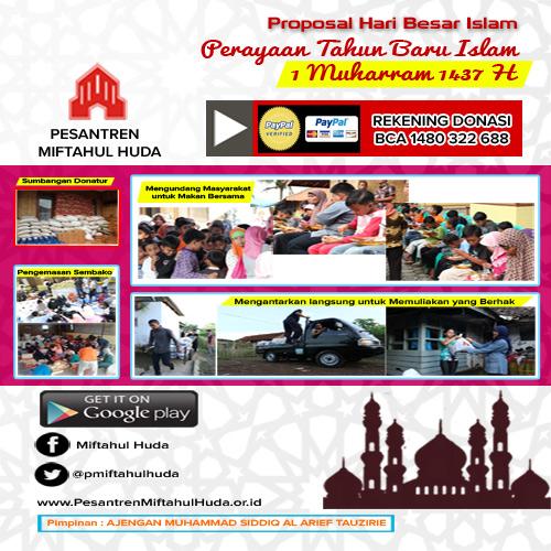 AYO Rayakan Tahun Baru Islam bersama kami di Pesantren ......