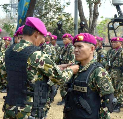 Batalyon Intai Amfibi–2 Marinir Ganti Komandan