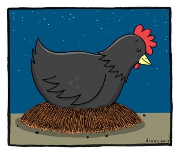500 Gambar Kartun Ayam Mengerami Telurnya Terbaru