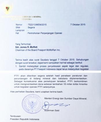 Bermasalahnya Surat Kementerian Esdm Kepada Ptfi Halaman All