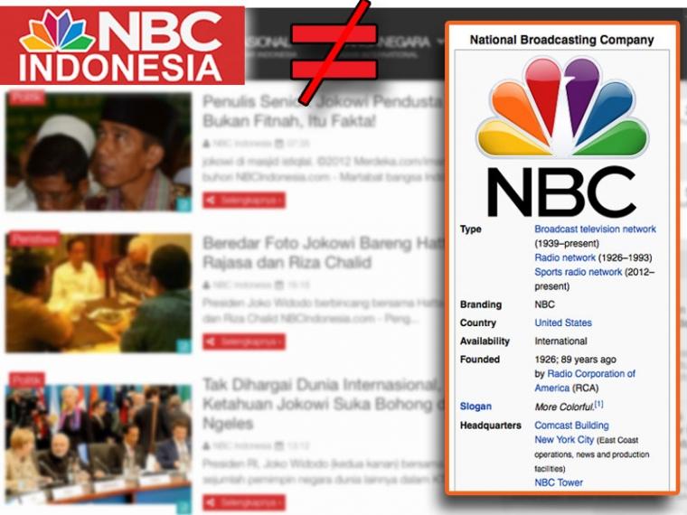 NBC Indonesia, Silumannya Siapa?