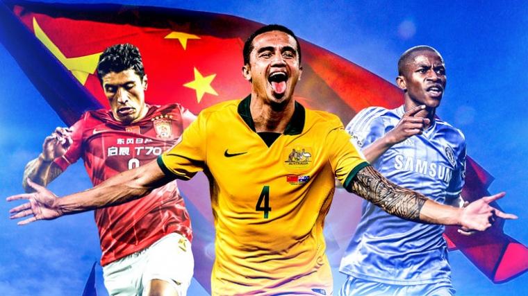 Geliat Liga Super China yang Kini Bergerak Menjadi Surga Pesepakbola Dunia