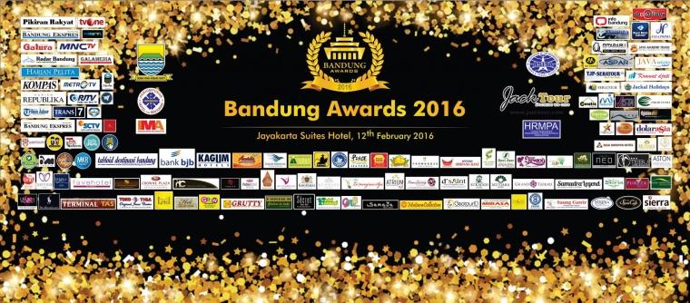 Bandung Awards 2016 Bidang Pariwisata dan Terimakasih