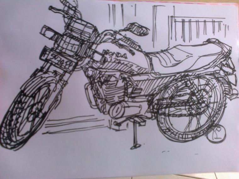 Nikmat Menggambar Sketsa Cepat Oleh Sigit Priyadi Kompasianacom